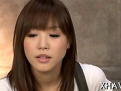 four asian hotties and two guys clip