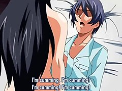 young anime sister first time anal