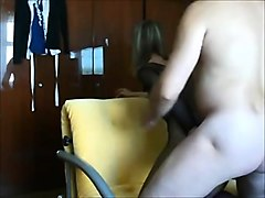 milf ass- fuck creampie on real homemade