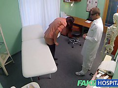 FakeHospital Busty sexy milf gets fucked on the examination
