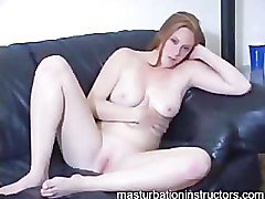 Masturbation teacher is in her birthday suit to easily tease men