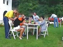 Group Sex - 5 Guys 5 Girls (outdoor Mature Orgy)