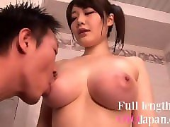 shower with japanese girl with big boobs - fun playing with her tits hd rie