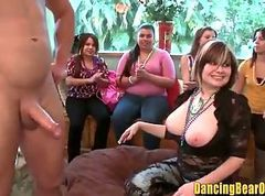 Amateur Bachelorette Party Blowbang Caught on Tape