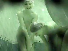 Hidden Cam Two Girls In Shower