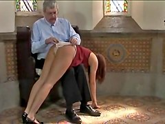 Spanked for wearing ugly knickers