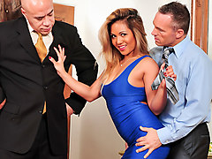 Marcus London in Seduced By The Boss Wife #05, Scene #02 - DevilsFilm