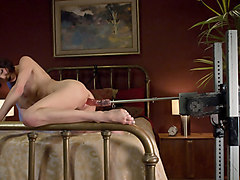 Incredible milf, fetish sex scene with amazing pornstar Veronica Avluv from Fuckingmachines