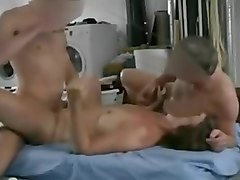 Mate fucked wife then I fucked wife and sucked his cock