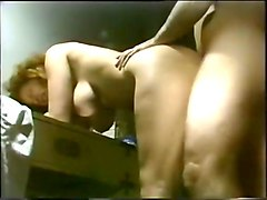 dude fucking his hot and curvy milf wife in the garage