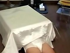 (censored) japanese girl enjoys riding a slave-in-the-box
